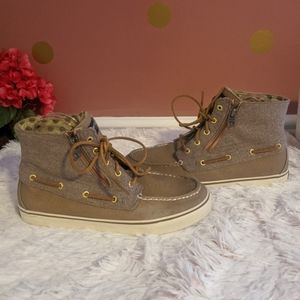 Sperry Top-Sider Betty Zip Canvas Boot